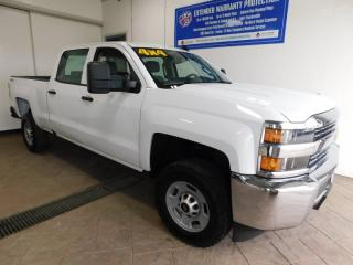 Used 2016 Chevrolet Silverado 2500 HD Work Truck 4X4 for sale in Listowel, ON
