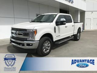 Used 2017 Ford F-350 Lariat V8 Diesel - Leather Heated / Cooled Seats - Trailer Tow for sale in Calgary, AB