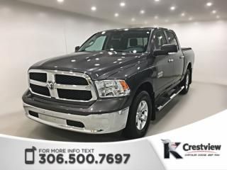 Used 2017 RAM 1500 SLT Crew Cab | Heated Seats and Steering Wheel | Remote Start for sale in Regina, SK