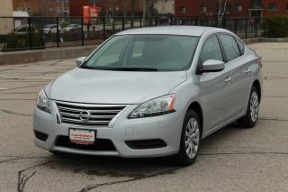 Used 2015 Nissan Sentra 1.8 S ONLY 65K | CERTIFIED for sale in Waterloo, ON