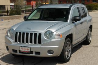 Used 2009 Jeep Compass Sport/North 4x4 | Sunroof | MANUAL | CERTIFIED for sale in Waterloo, ON