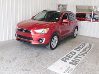 Used 2015 Mitsubishi RVR GT for sale in Red Deer, AB