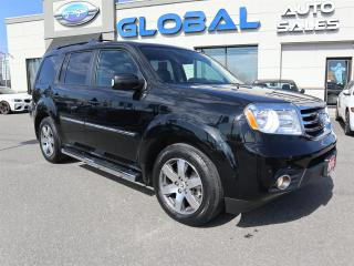 Used 2015 Honda Pilot Touring 4WD  8 PASSENGERS TV/DVD VERY LOW KM. for sale in Ottawa, ON