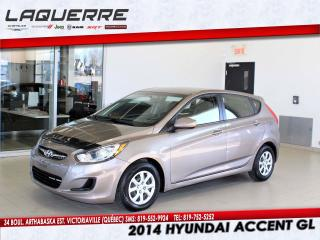 Used 2014 Hyundai Accent GL for sale in Victoriaville, QC
