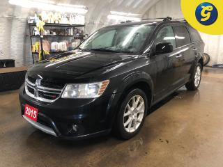 Used 2015 Dodge Journey R/T * AWD * Sunroof * Leather * U connect touchscreen * Phone connect * Voice recognition * Remote start * Push button ignition * Keyless entry * Dual for sale in Cambridge, ON
