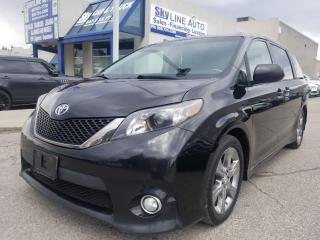 Used 2011 Toyota Sienna SE 8 Passenger 8 PASSENGER|LEATHER SEATS|SUNROOF|HEATED SEATS|CERTIFIED for sale in Concord, ON
