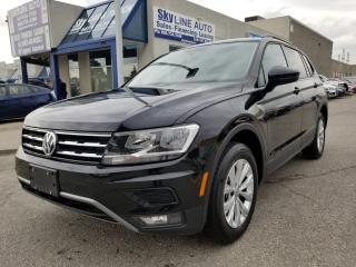 Used 2018 Volkswagen Tiguan Trendline TRENDLINE|BACKUP CAMERA|APPLE ANDROID PLAY|HD RADIO|CERTIFIED for sale in Concord, ON