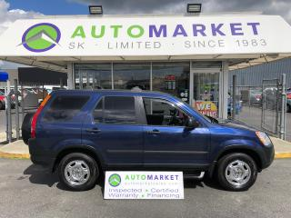 Used 2004 Honda CR-V LX 4WD AT FREE BCAA! FINANCING FOR ALL! for sale in Langley, BC