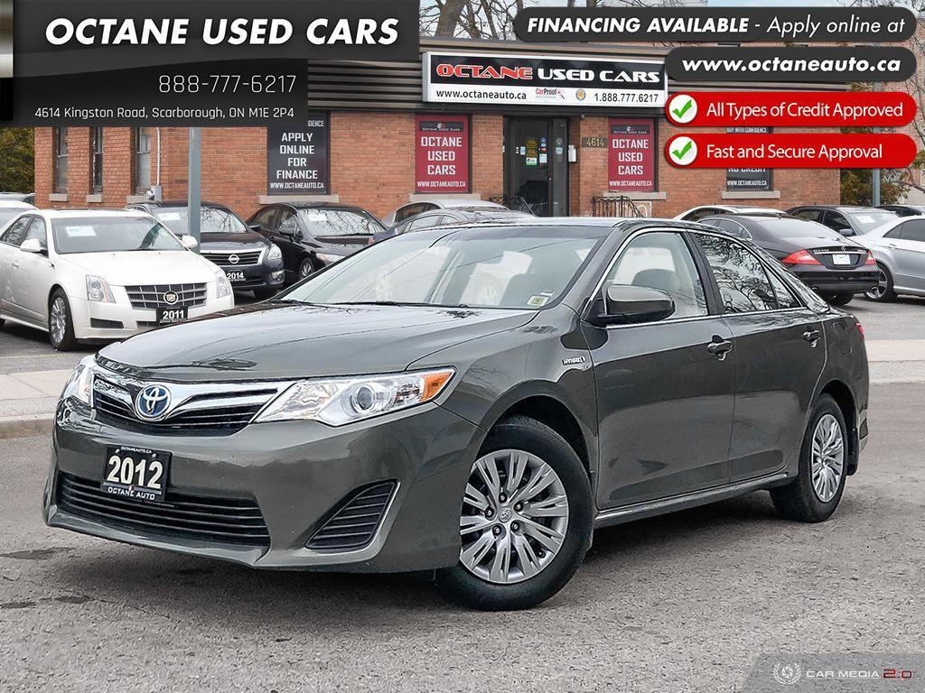 Used 2012 Toyota Camry Hybrid Le Accident Free Well Maintained For