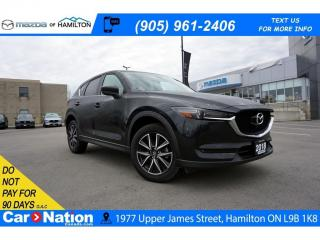 Used 2018 Mazda CX-5 GT | LEATHER | SUNROOF | REAR CAM | for sale in Hamilton, ON