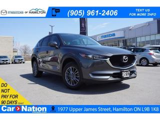 Used 2017 Mazda CX-5 GS | NAV | LEATHERETTE | REAR CAM | HEATED SEATS for sale in Hamilton, ON