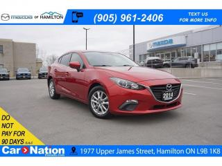 Used 2014 Mazda MAZDA3 GS-SKY GS | NAV | REAR CAM | BLUETOOTH for sale in Hamilton, ON
