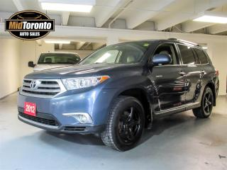 Used 2012 Toyota Highlander LIMITED  for sale in North York, ON