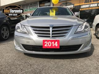 Used 2014 Hyundai Genesis Power Sunroof | Leather | Excellent Condition for sale in North York, ON