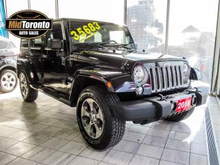 Used 2018 Jeep Wrangler Unlimited Sahara for sale in North York, ON