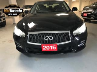 Used 2015 Infiniti Q50 Limited for sale in North York, ON