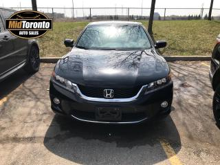 Used 2014 Honda Accord EX-L V6 Coupe Nav Roof for sale in North York, ON