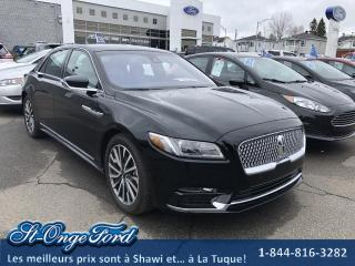 Used 2017 Lincoln Continental Sélect berline for sale in Shawinigan, QC