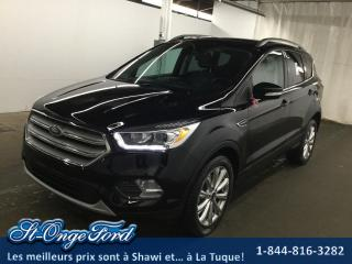 Used 2018 Ford Escape Titanium 4rm for sale in Shawinigan, QC