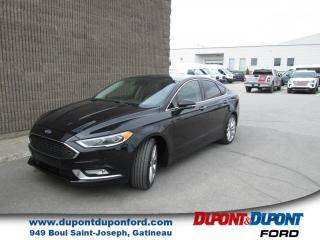 Used 2017 Ford Fusion Berline 4 portes Titane traction intégra for sale in Gatineau, QC