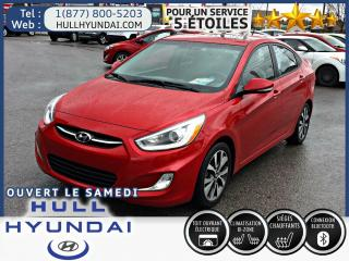 Used 2015 Hyundai Accent GLS for sale in Gatineau, QC