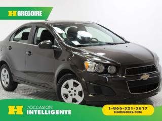 Used 2015 Chevrolet Sonic Lt Caméra De Recul for sale in St-Léonard, QC