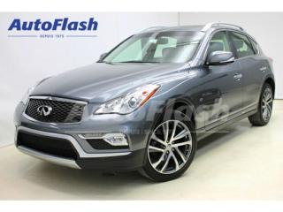 Used 2016 Infiniti QX50 Journey Gps Camera for sale in St-Hubert, QC