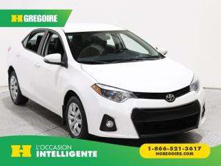 Used 2014 Toyota Corolla A/c Camera De Recul for sale in St-Léonard, QC