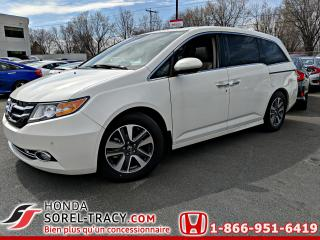 Used 2017 Honda Odyssey Touring+Cuir+GPS+DVD for sale in Sorel-Tracy, QC