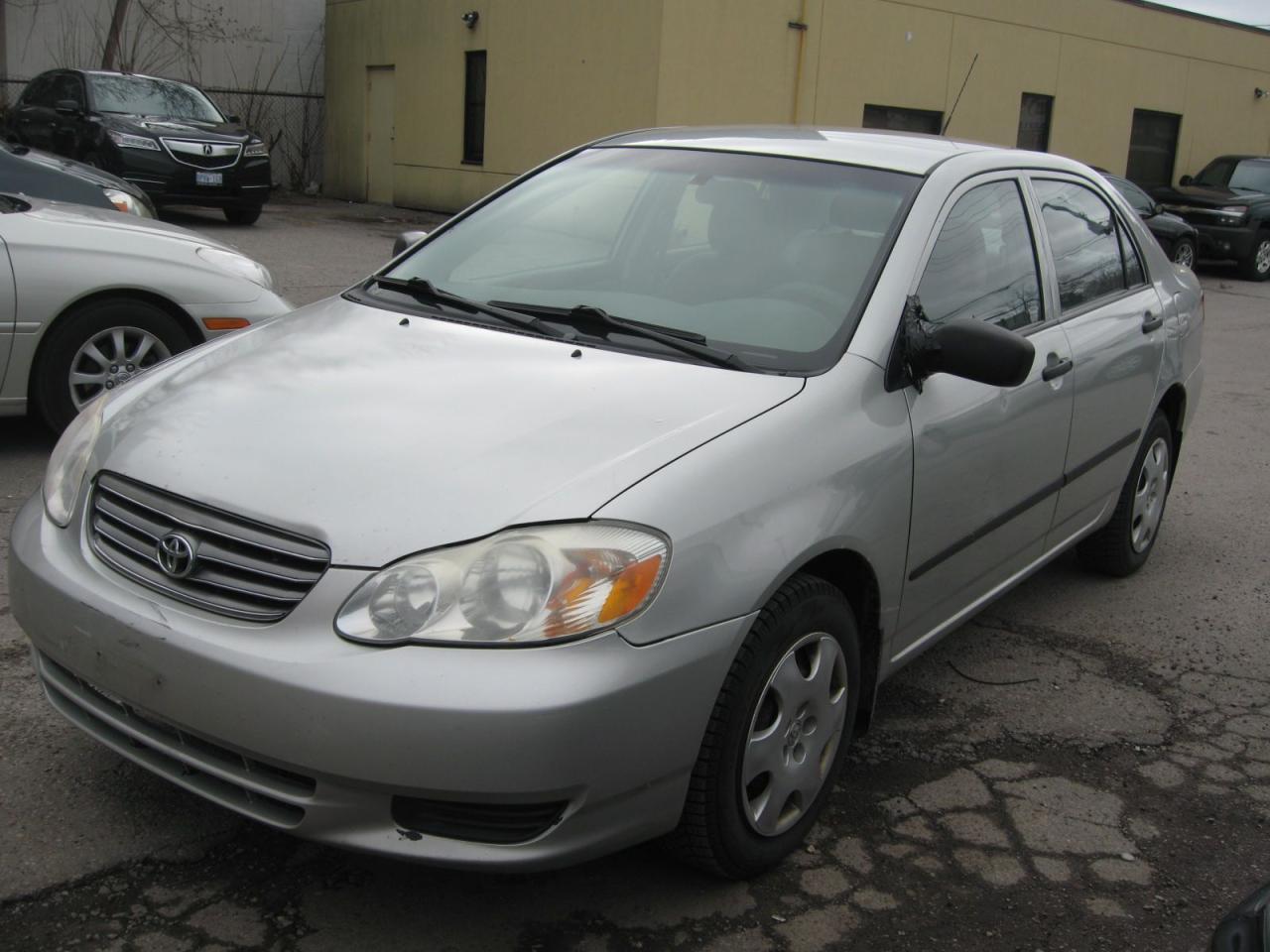 Photo of Silver 2003 Toyota Corolla