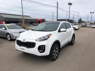 Used 2017 Kia Sportage SX Turbo avec Noir 4 portes TI for sale in Alma, QC