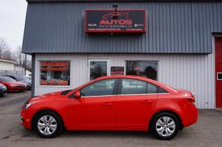 Used 2015 Chevrolet Cruze LT 1LT 6 VITESSES FULL CAMERA BLUETOOTH 89 236 for sale in Lévis, QC