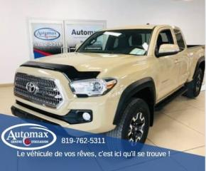 Used 2017 Toyota Tacoma TRD Off Road Access cab *King cab** for sale in Rouyn-Noranda, QC