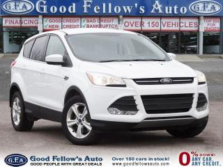 Used 2016 Ford Escape SE MODEL, 1.6 ECOBOOST, HEATED SEATS, REARVIEW CAM for sale in Toronto, ON
