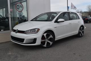 Used 2016 Volkswagen Golf GTI for sale in St-Jérôme, QC