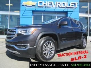 Used 2018 GMC Acadia Sle2 Awd 6 Passagers for sale in Ste-Marie, QC