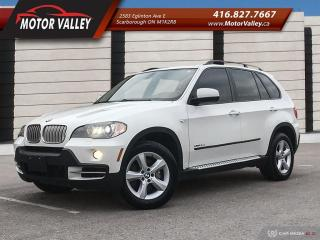 Used 2010 BMW X5 35d AWD ***Diesel*** 7-Passenger Navigation / DVD for sale in Scarborough, ON