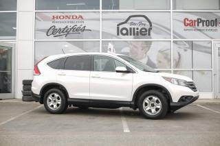 Used 2014 Honda CR-V AWD EX ***GARANTIE 10 ANS/200 000 KM*** for sale in Québec, QC