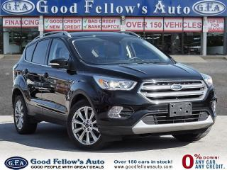 Used 2017 Ford Escape TITANIUM MODEL, LEATHER SEATS, NAVIGATION, 4WD for sale in Toronto, ON