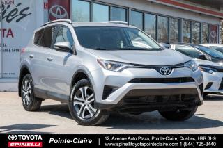 Used 2016 Toyota RAV4 LE AWD for sale in Pointe-Claire, QC