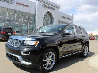 Used 2015 Jeep Grand Cherokee SUMMI for sale in Peace River, AB