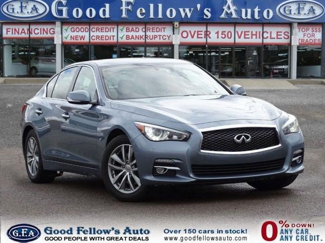 2014 Infiniti Q50 3.7 LITER, AWD, LEATHER SEATS, SUNROOF, POWER SEAT