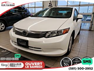 Used 2012 Honda Civic Lx Cruise A/c for sale in Québec, QC