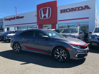 New 2019 Honda Civic Sedan JL Edition! Si Rims, Custom Decals, Tinted, Winter Tires! for sale in Campbell River, BC
