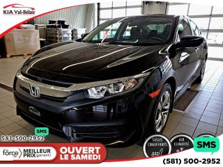 Used 2016 Honda Civic Lx Camera A/c for sale in Québec, QC