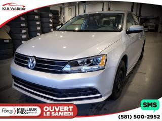 Used 2015 Volkswagen Jetta Trendline + A/C for sale in Québec, QC