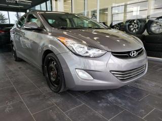 Used 2013 Hyundai Elantra LIMTED, HEATED SEATS, NAVI, SUNROOF, REAR VIEW CAMERA for sale in Edmonton, AB