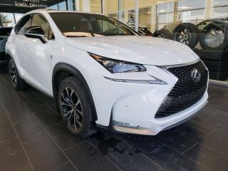 Used 2016 Lexus NX 200t FSPORT, HEATED STEERING, NAVI, REAR VIEW CAMERA for sale in Edmonton, AB