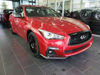 New 2019 Infiniti Q50 I-LINE RED SPORT/ PROACTIVE PACKAGE for sale in Edmonton, AB