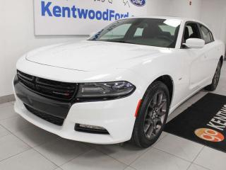 Used 2018 Dodge Charger GT AWD, NAV, sunroof, heated power seats and back up camera for sale in Edmonton, AB